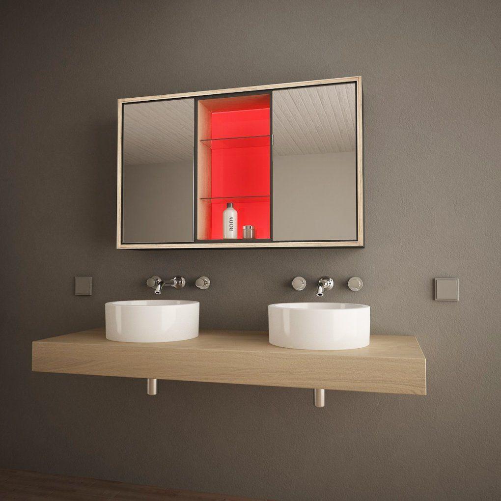 Badspiegelschrank Mit Ledbeleuchtung Illumino 989705290 von Spiegelschränke Mit Led Beleuchtung Bild