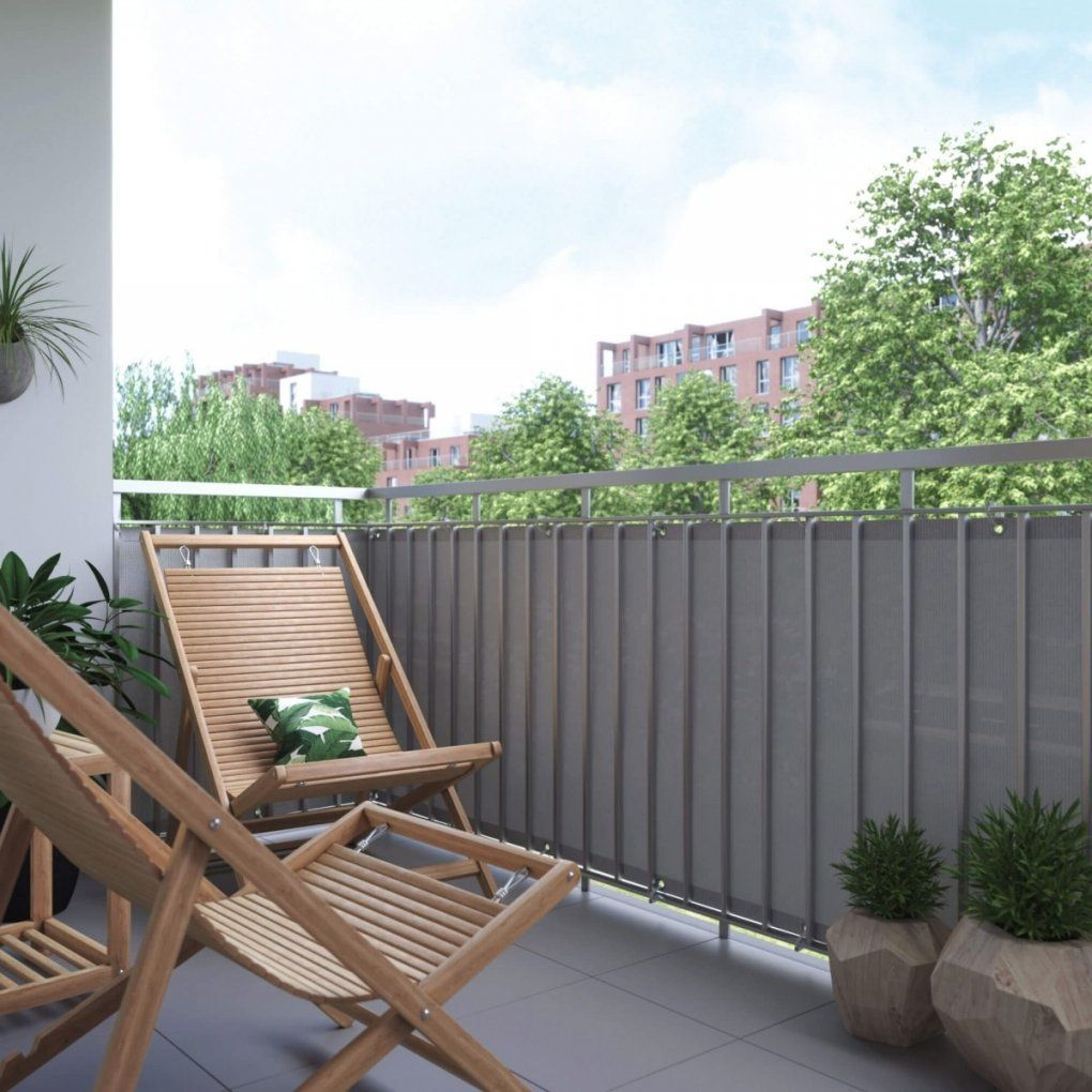 balkon sichtschutz seitlich selber bauen beautiful groß beste von