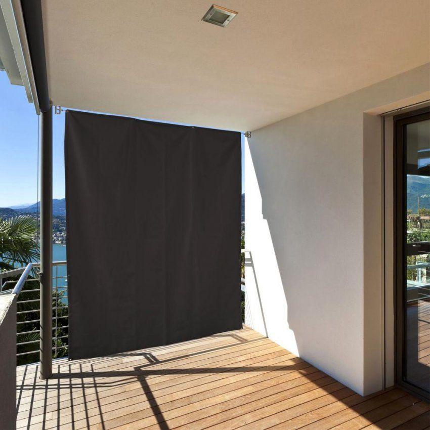 Balkon Windschutz Ohne Bohren Inspirational Wind Und Sichtschutz Fur von Balkon Seitensichtschutz Ohne Bohren Bild