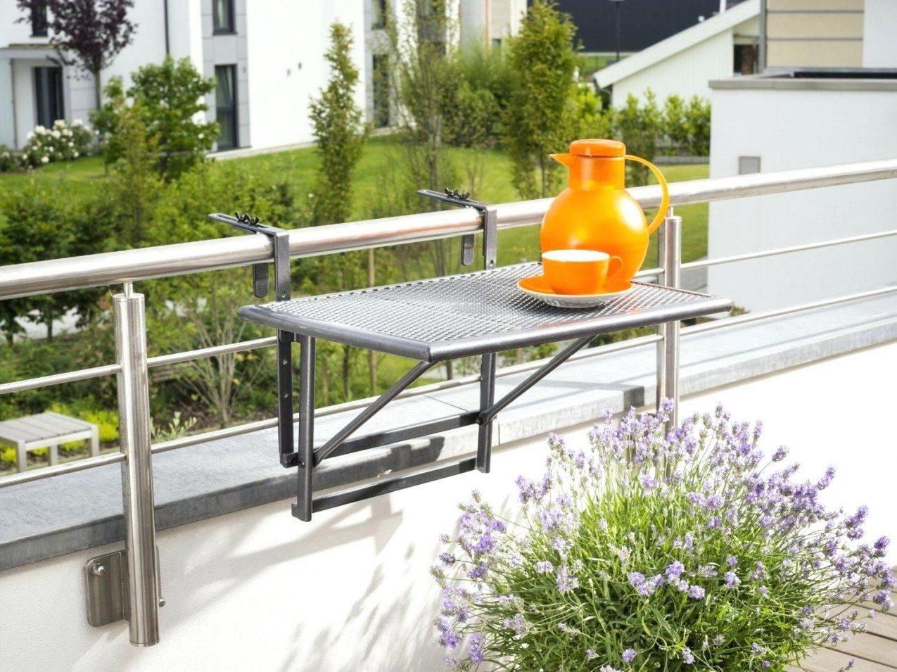 Balkongelander Tisch Balkonmabel Fa 1 4 R Kleinen Balkon von Tisch Für Kleinen Balkon Photo