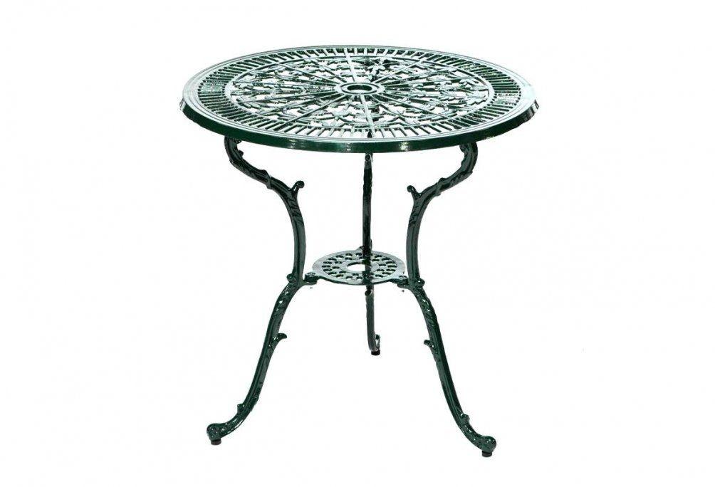 Balkontisch Rund Perfekt Gartentisch Mit Mosaik Muster Zum 60 Cm von Gartentisch Rund 60 Cm Metall Bild