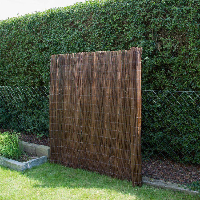 Bambus Als Sichtschutz Fabulous Bambusmatte M X M Zaun Sichtschutz von Weide Sichtschutz Selber Machen Photo