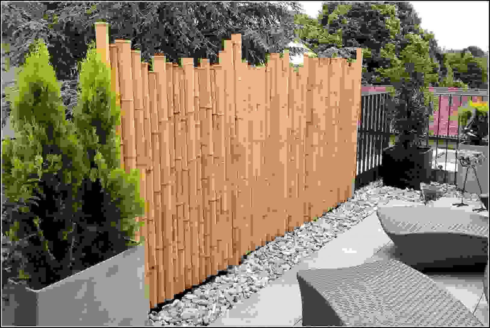 Bambus Sichtschutz Ausgeglichenes Auf Moderne Deko Ideen Ist von Balkon Sichtschutz Bambus Ikea Bild