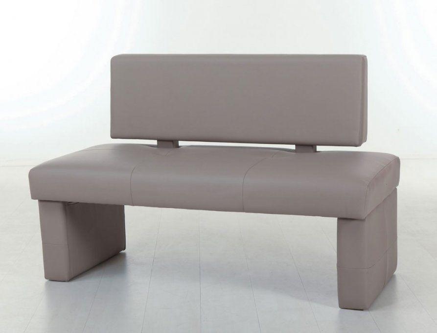 Bank Dorian Mit Lehne Kunstleder Variante 130Cm 150Cm 180Cm Sitzbank von Sitzbank Mit Lehne 100 Cm Bild