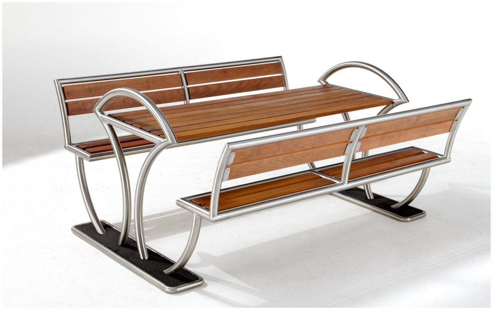 "Bank Tisch Kombination 85978 Tisch Bank Kombination ""tabula"" von Bank Tisch Kombination Holz Bild"