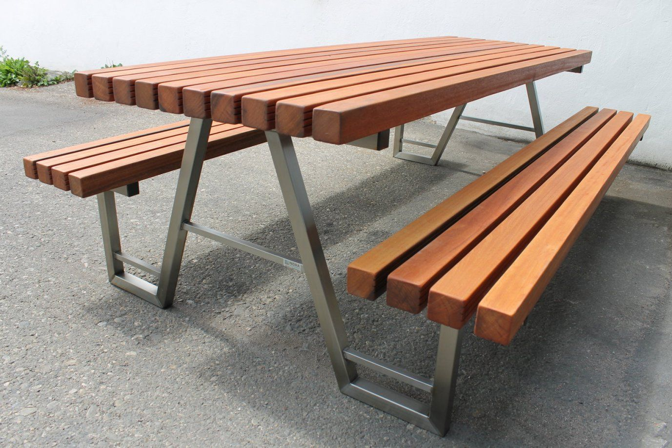 Bank Tisch Kombination  Die Schönsten Einrichtungsideen von Tisch Bank Kombination Bauanleitung Bild