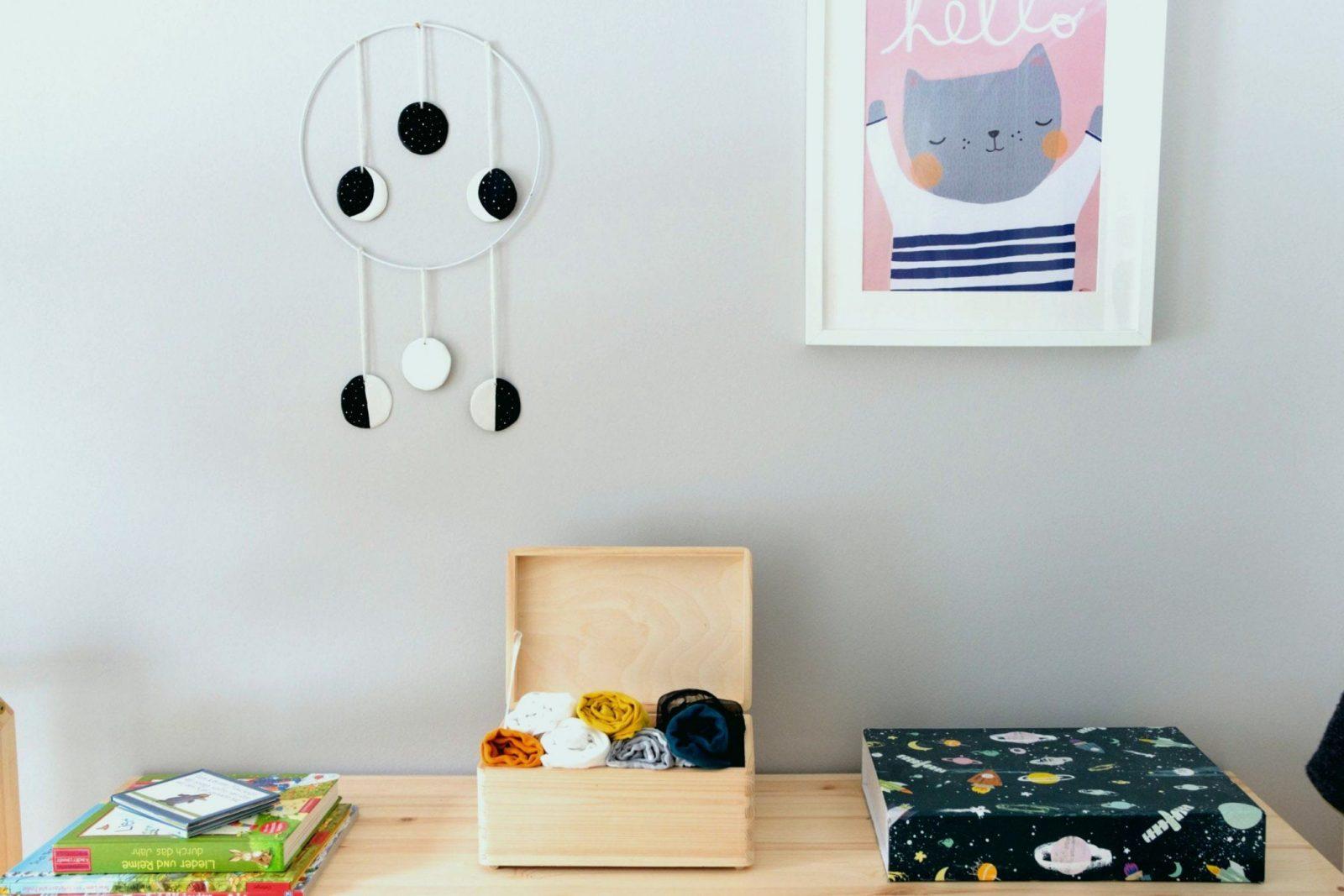 Basteln Für Babyzimmer Fein Wandgestaltung Kinderzimmer Selber Von