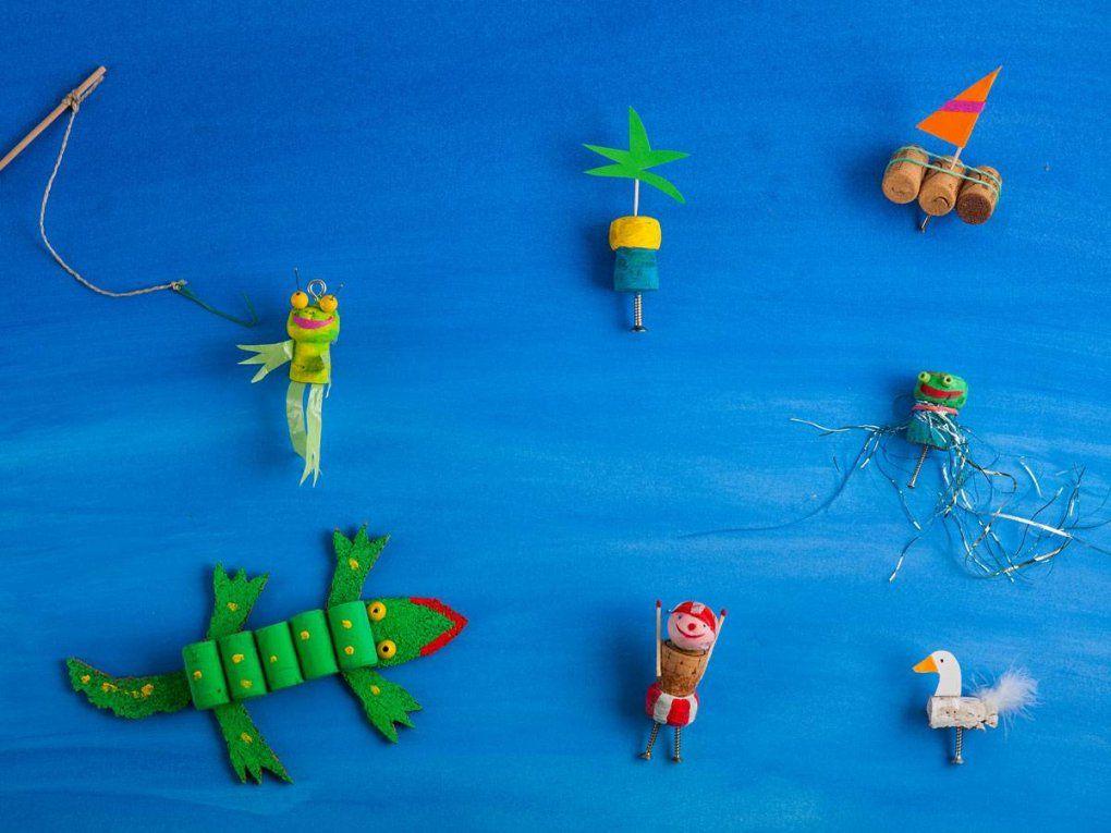 Basteln Mit Kindern Basteln Rund Ums Wasser  Kostenlose von Boote Basteln Mit Kindern Bild