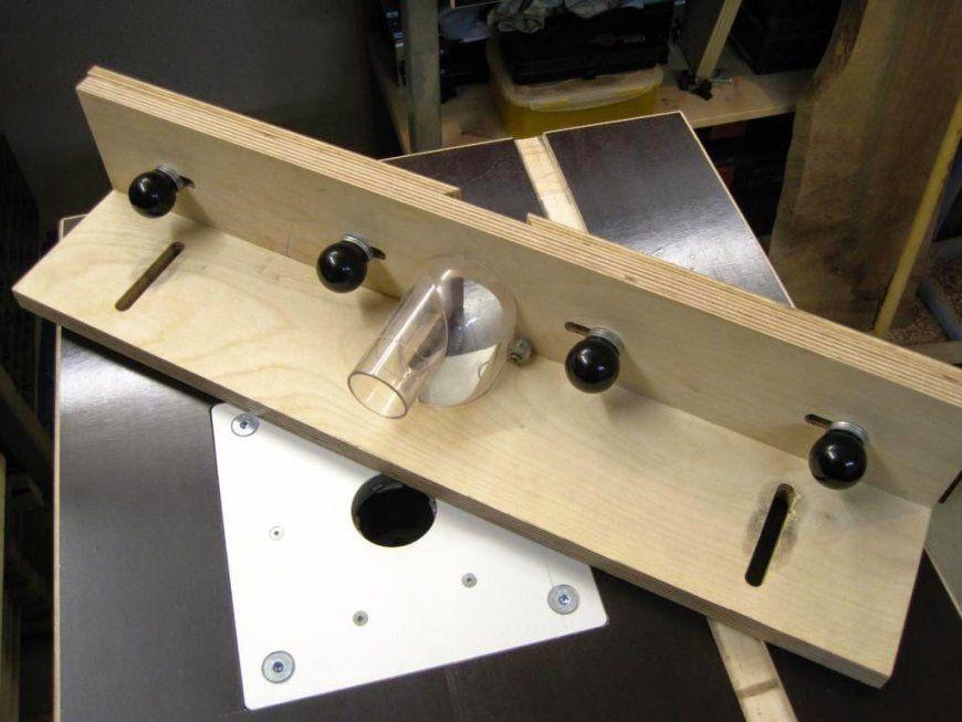 Basti´s Holzpage Tischfräse Eigenbau von Oberfräse Zubehör Selber Bauen Bild