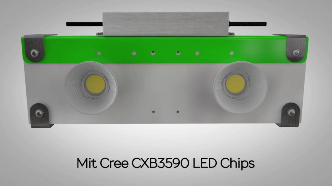 Bau Dir Dein Led Grow Light Mit Den Diymkits Von Proemit  Youtube von Led Grow Panel Selber Bauen Photo