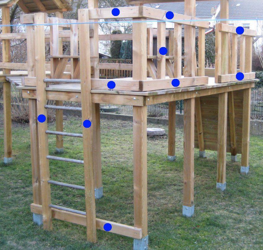 Bauanleitung Für Ein Klettergerüst Mit Wackelbrücke von Bauanleitung Spielturm Selber Bauen Photo