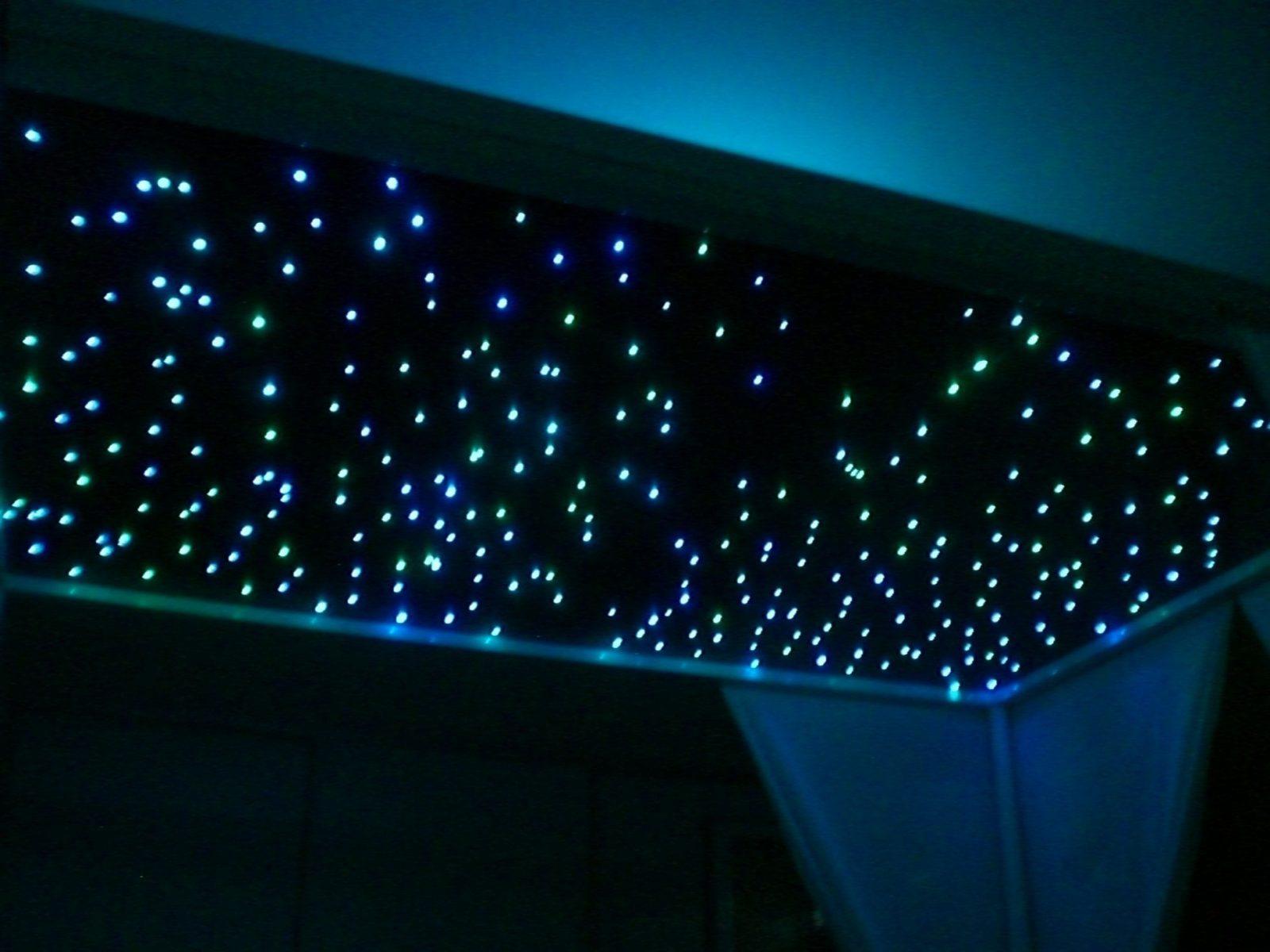 Bauanleitung Ledsternenhimmel  Karsten Reineck von Sternenhimmel Lampe Selber Bauen Photo