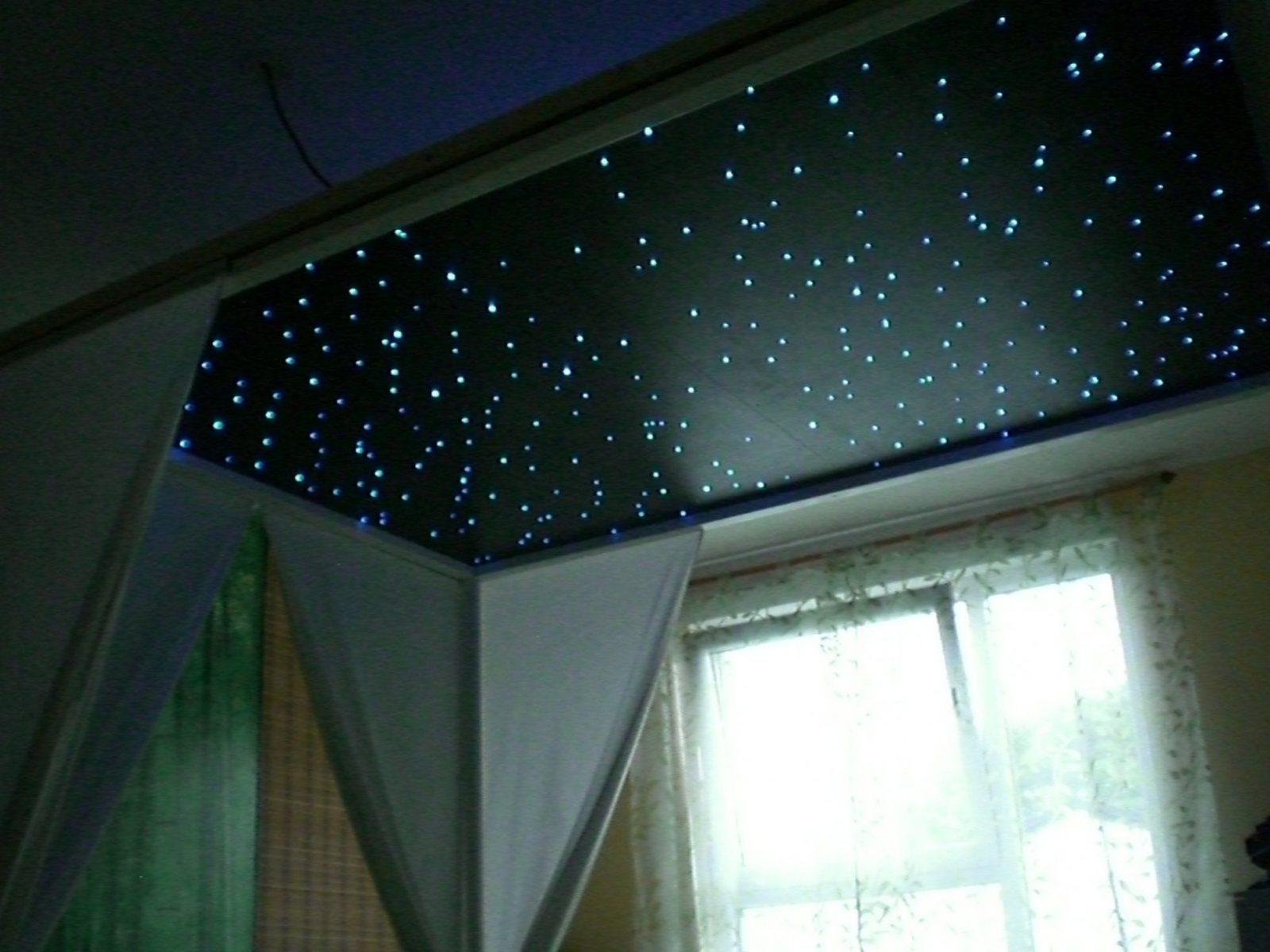 Bauanleitung Ledsternenhimmel  Karsten Reineck von Sternenhimmel Selber Bauen Glasfaser Bild