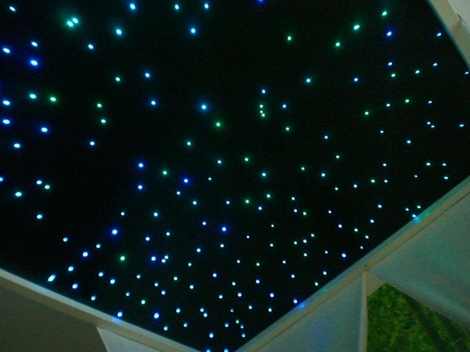 Bauanleitung Ledsternenhimmel  Sternenhimmel Kinderzimmer Und von Sternenhimmel Selber Bauen Glasfaser Bild