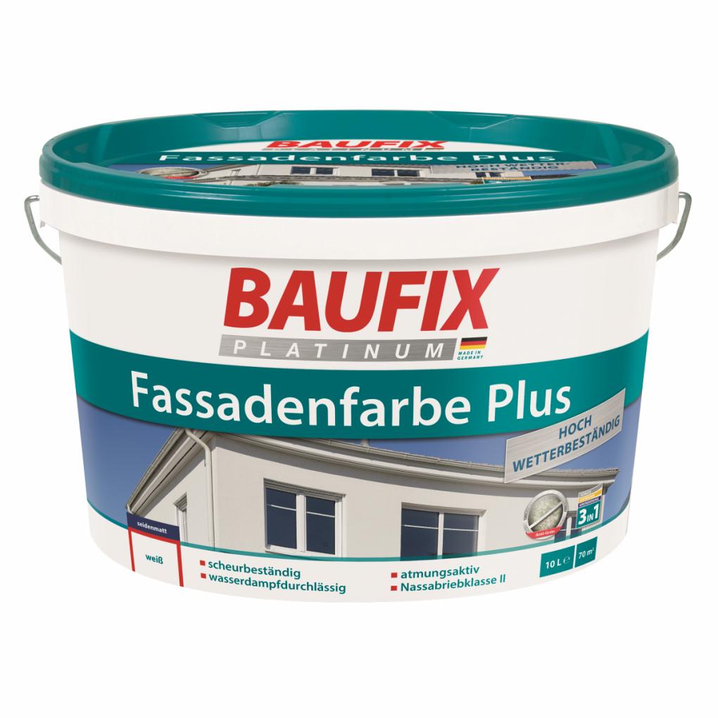 Baufix Platinum Fassadenfarbe Plus  Fassadenfarben  Malerbedarf von Baufix Pur Langzeitlasur Nussbaum Photo