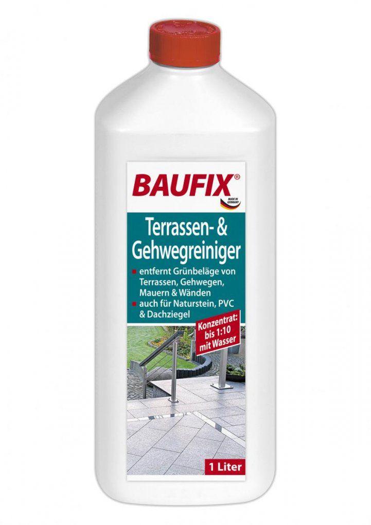 Baufix Terrassen & Gehwegreiniger  Gartenreinigung  Baumarkt von Baufix Pur Langzeitlasur Nussbaum Bild