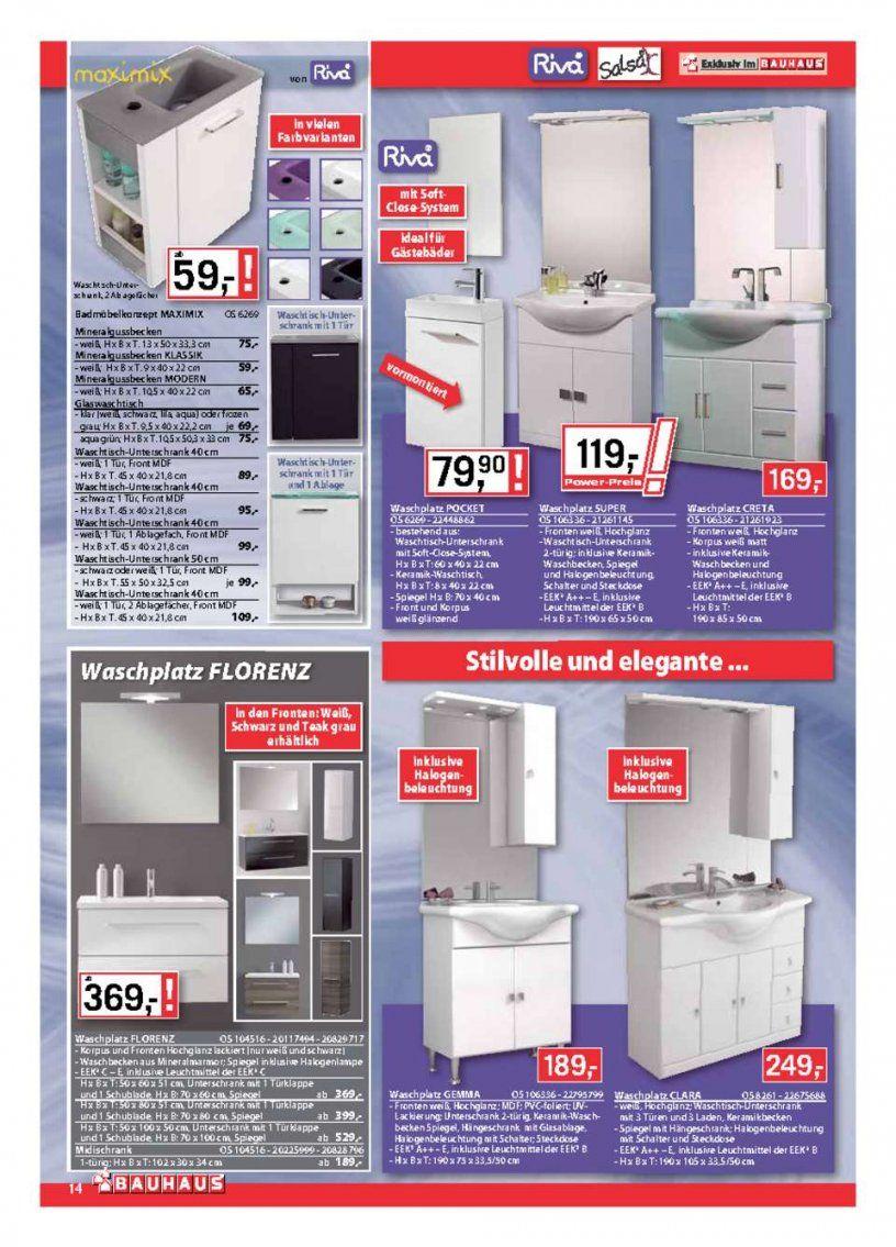 Bauhaus Katalog  2+1 Gratis  Seite No 1440 Gültig Von 51 Bis von Bauhaus Waschtisch Mit Unterschrank Photo