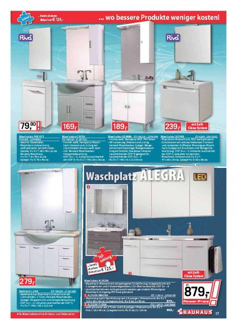 Bauhaus Katalog  Aktueller Bauhaus Prospekt  Seite No 1740 von Bauhaus Waschtisch Mit Unterschrank Bild