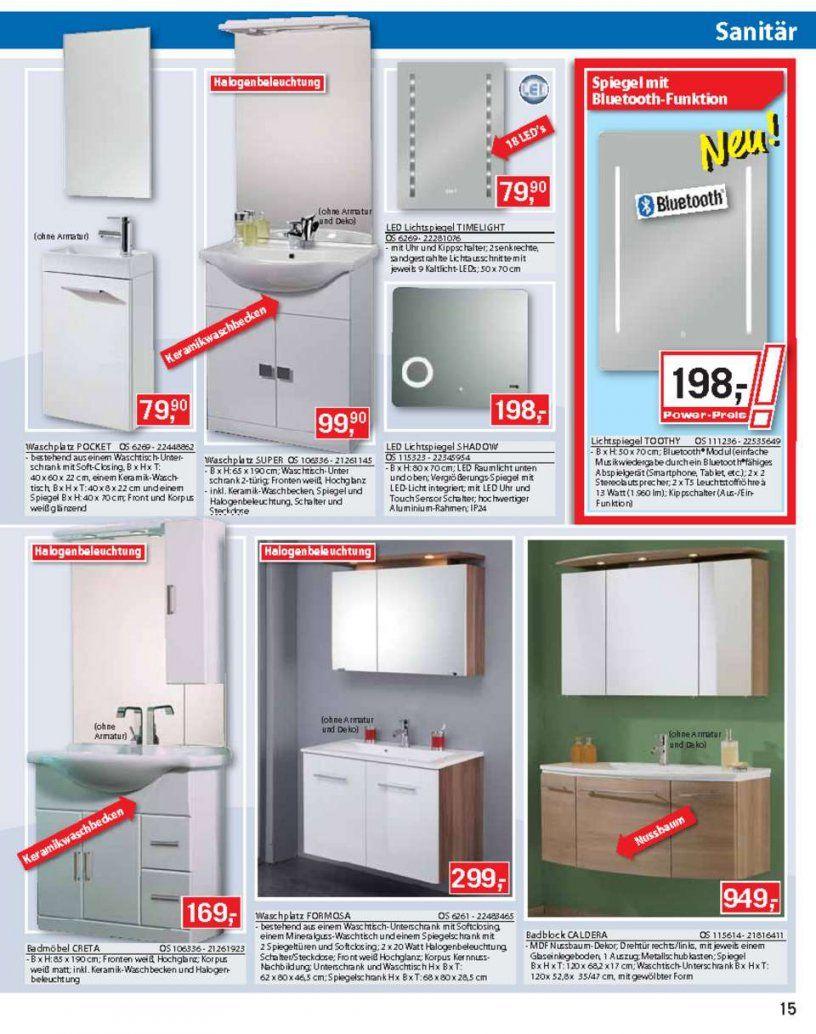 Bauhaus Katalog  Pkwanhänger Türe  Seite No 1540 Gültig Von von Waschbecken Mit Unterschrank Bauhaus Bild