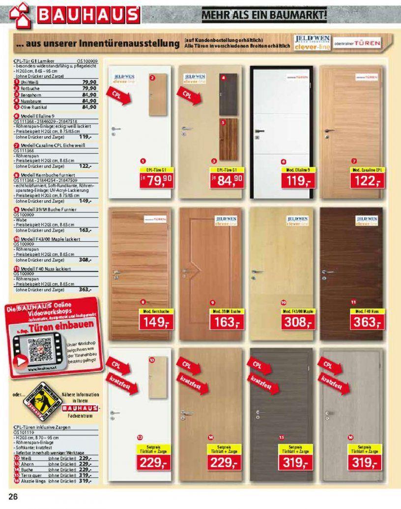 Bauhaus Katalog   Seite No 2648 Gültig Von 2110 Bis 16112013 von Bauhaus Innentüren Mit Zarge Bild