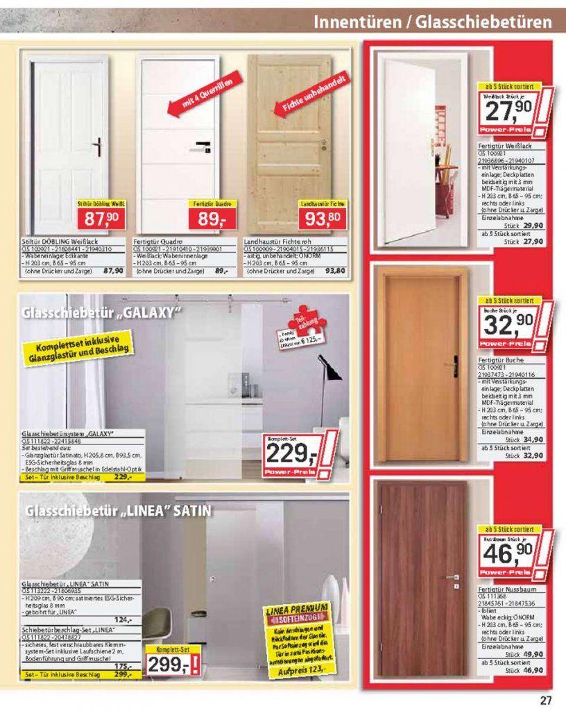 Bauhaus Katalog   Seite No 2748 Gültig Von 2110 Bis 16112013 von Bauhaus Innentüren Mit Zarge Photo