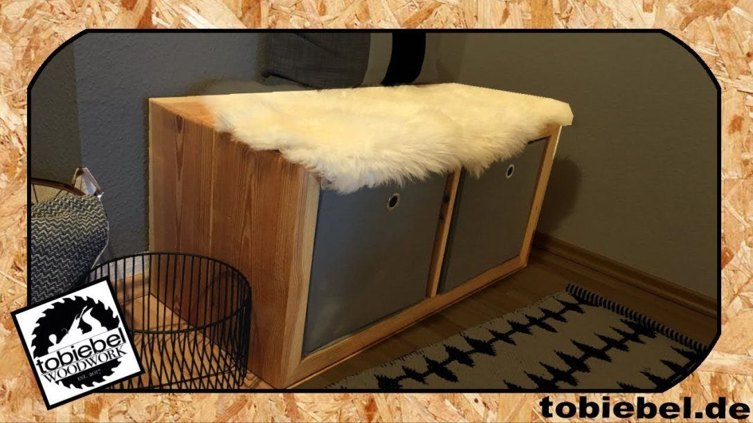 Bauholz Möbel Selber Bauen⎮Sitzbank⎮Bank Regal Ikea Kallax Expedit von Bauholz Möbel Selber Bauen Photo