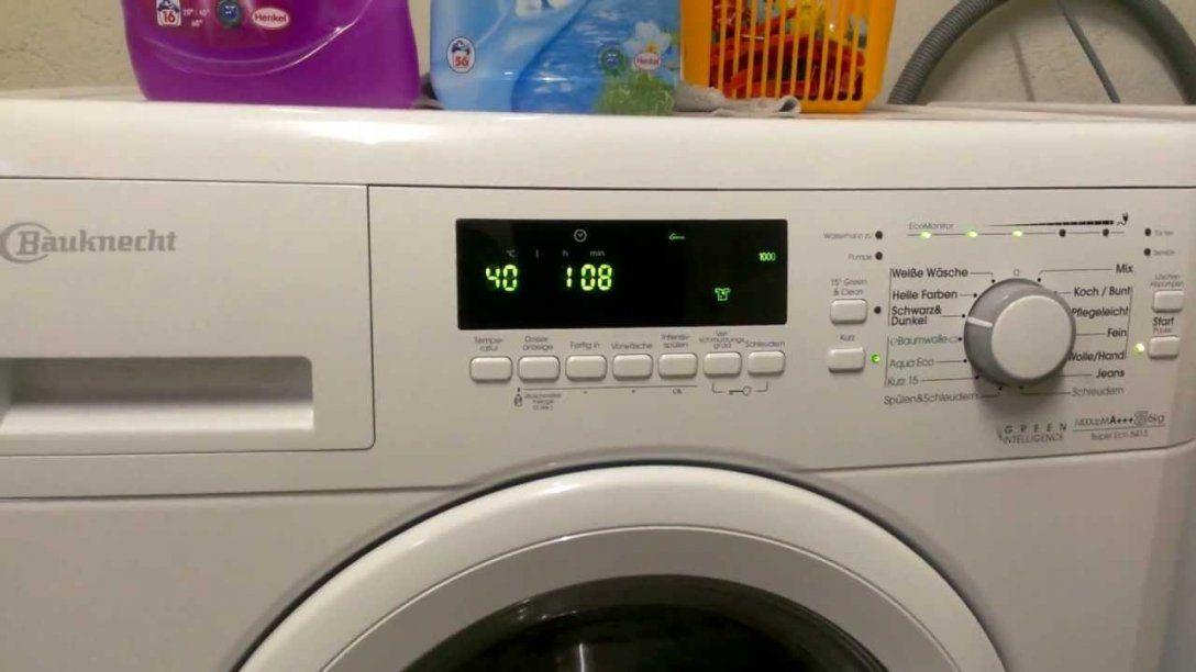Bauknecht Super Eco 6413  Youtube von Waschmaschine Bauknecht Super Eco 7415 Bild