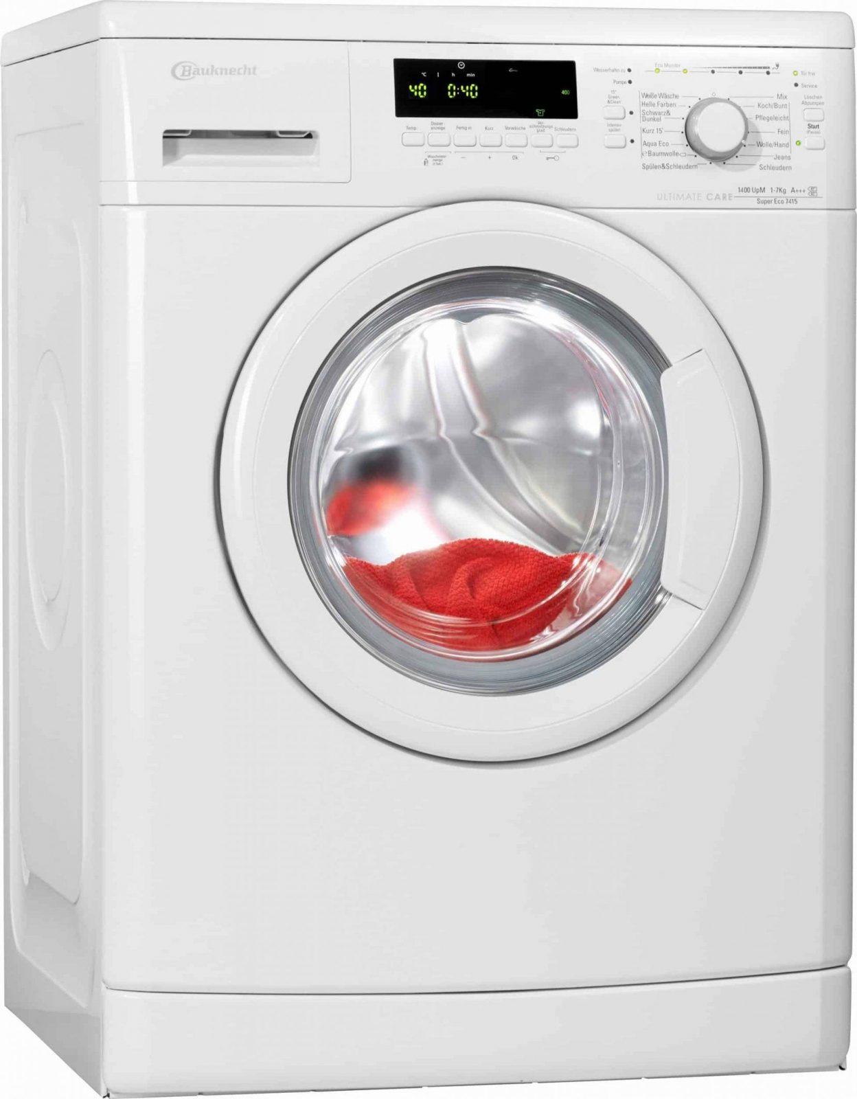 Bauknecht Super Eco 7415 Waschmaschine Im Test 2018 von Waschmaschine Bauknecht Super Eco 7415 Photo