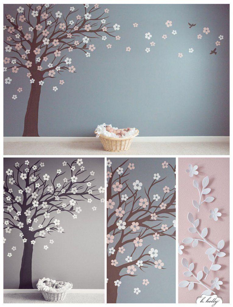 Baum Malvorlage Wand von Vorlage Baum Für Wand Bild