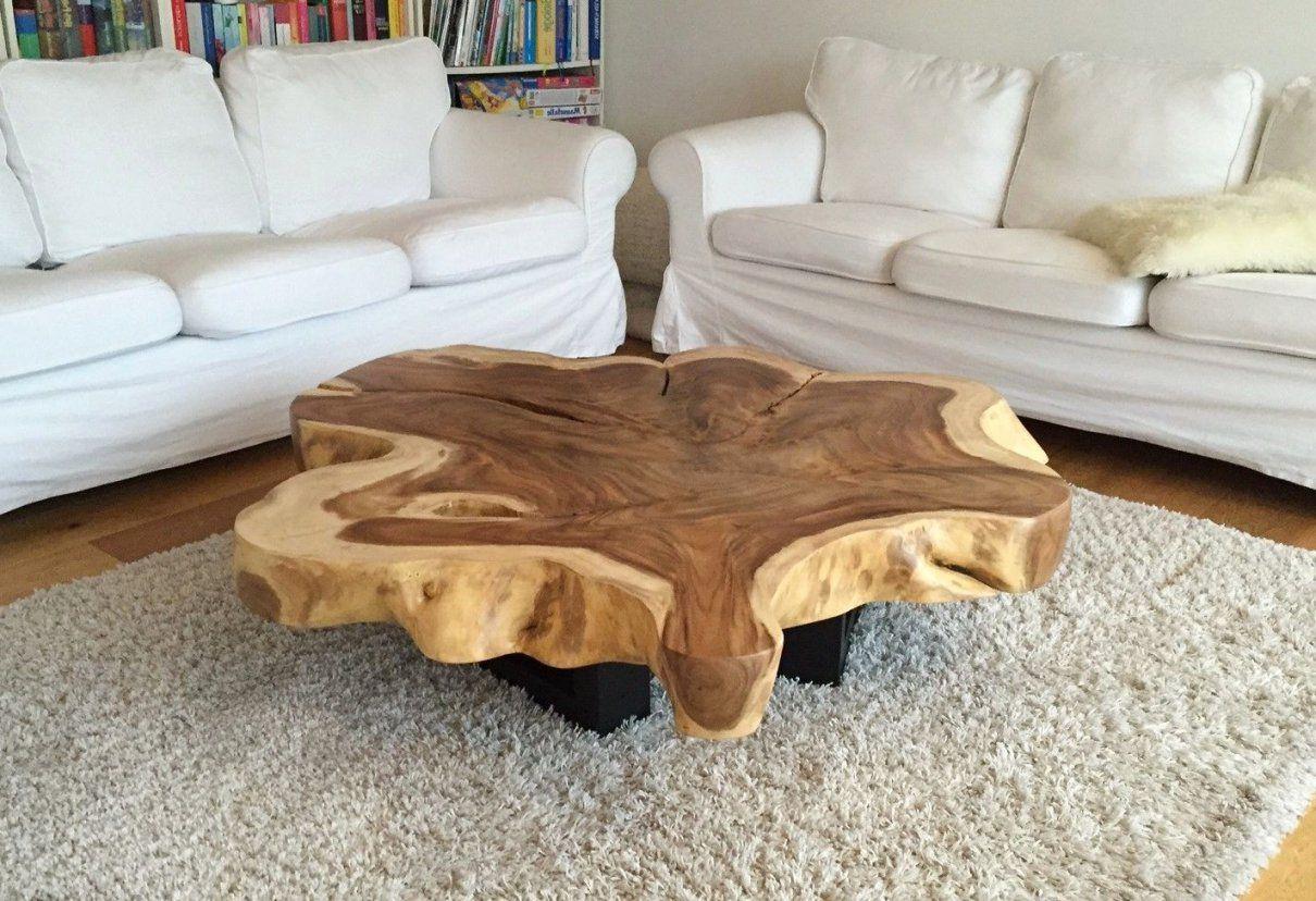 Tisch Aus Baumstamm Selber Machen