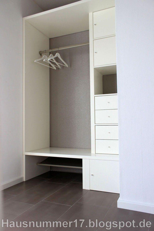 Bautagebuch Prohaus  Hausnummer 17 Ikea Hack Eine Flur Garderobe von Garderobe Selber Bauen Design Bild