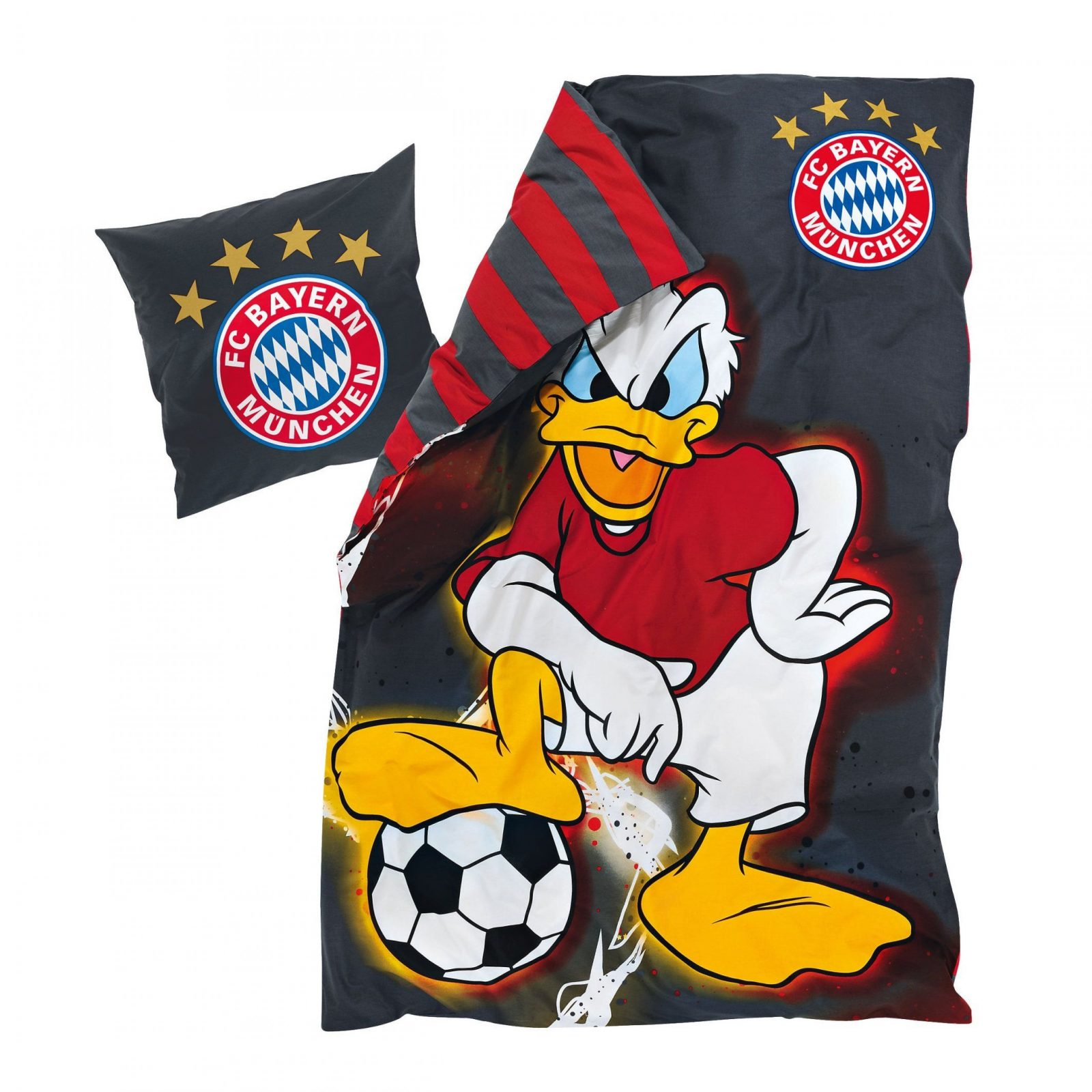 Bed Linen Disney Donald Duck  Official Fc Bayern Online Store von Donald Duck Bettwäsche Photo