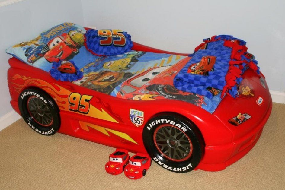 Bedroom Childrens Toddler Beds  Little Tikes Sports Car Twin Bed von Toddler Car Bed For Boys Photo