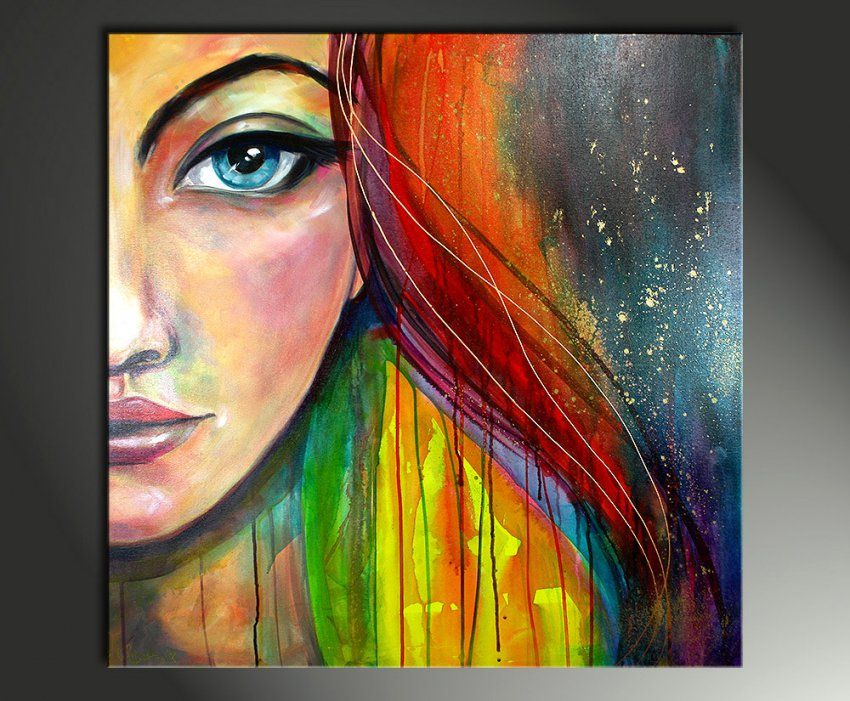 Beeindruckend Acrylbilder Ideen Wunderbar Für Die Besten 25 Selber von Abstrakte Acrylbilder Selber Malen Bild