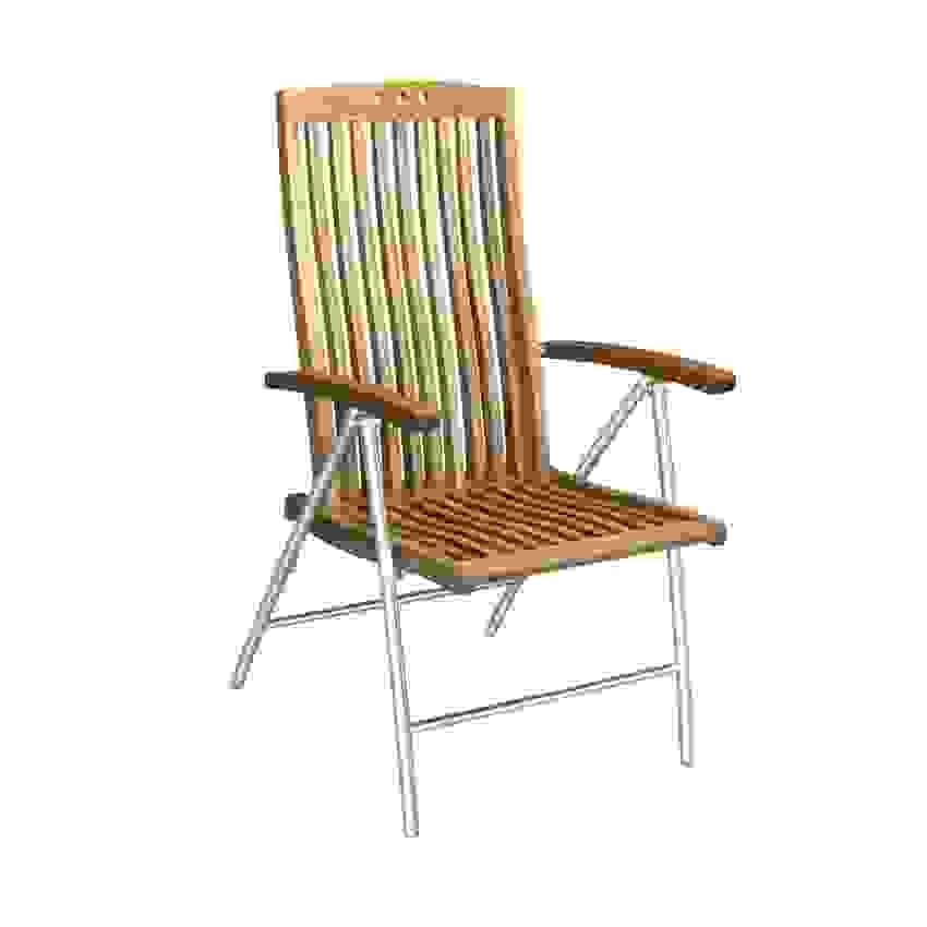 Beeindruckend Hochlehner Gartenstuhl Holz Gartenstühle Metall Von von Gartenstühle Metall Holz Klappbar Bild