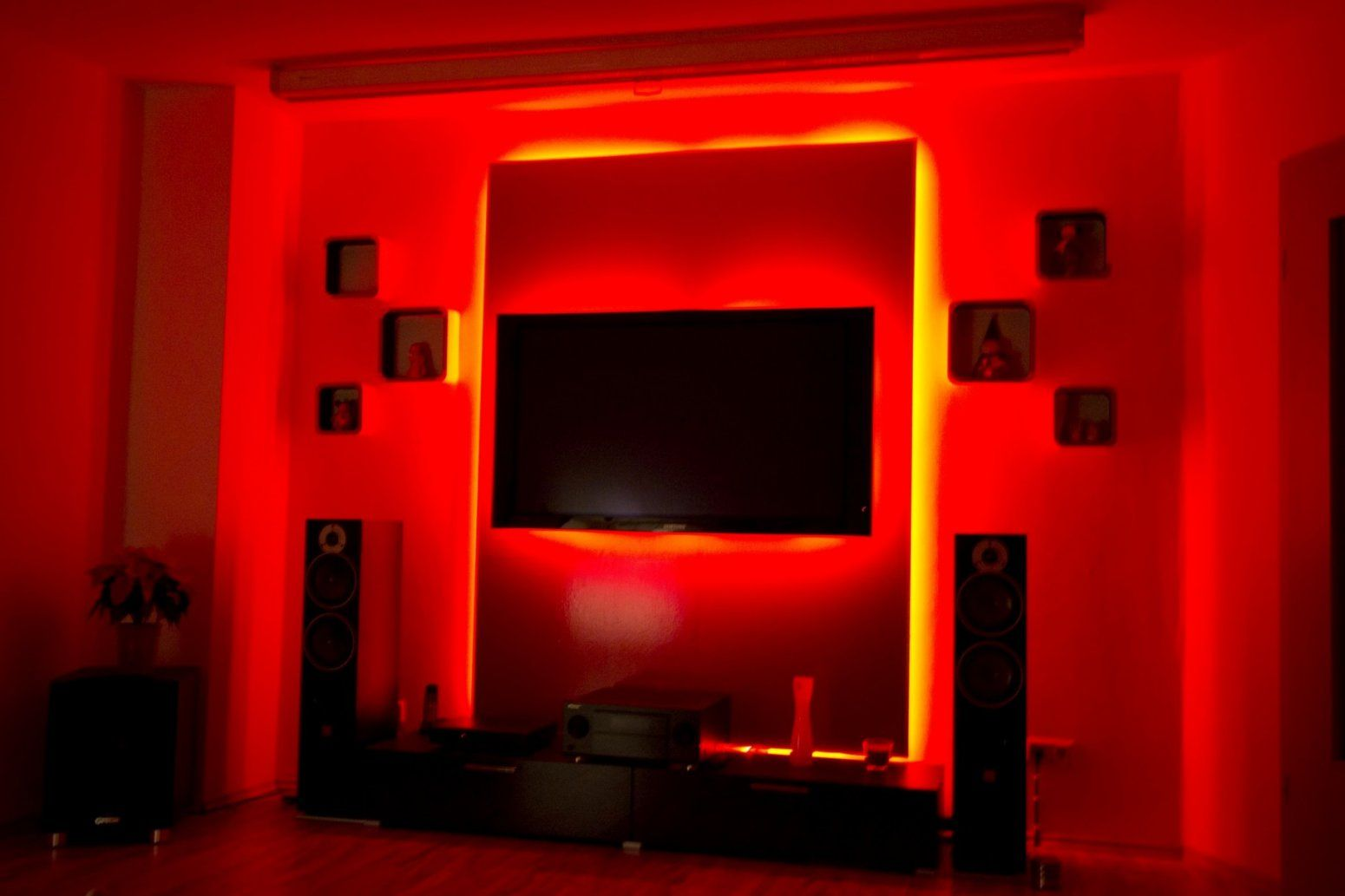 Beeindruckend Led Tv Wand Material Liste Youtube Inside Selber Bauen von Led Leinwand Selber Bauen Photo