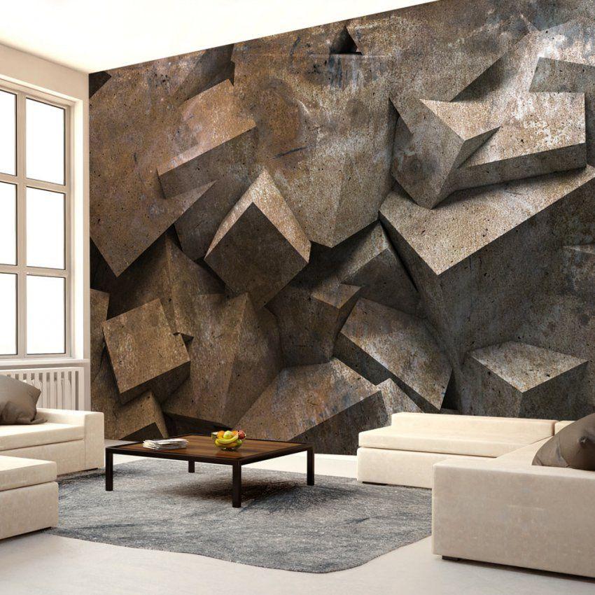 Beeindruckend Stein Tapete 3D Vlies Fototapete 3 Farben Zur Auswahl von Stein Tapete 3D Wohnzimmer Photo