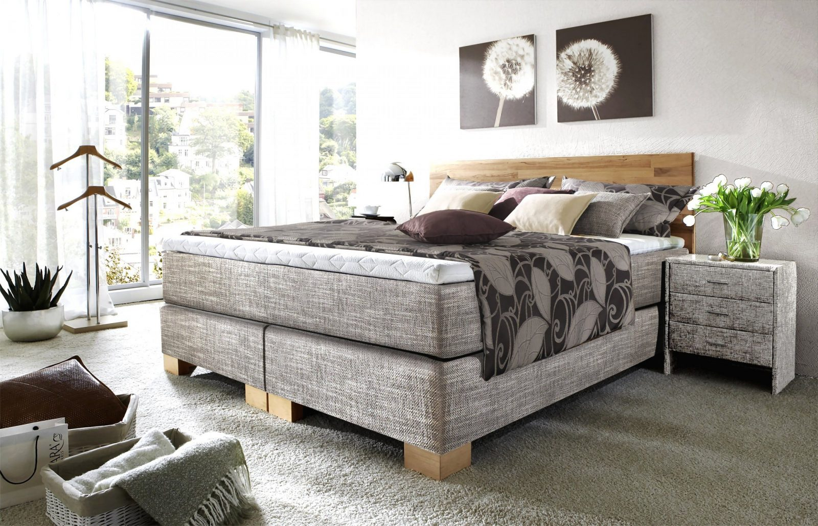 beeindruckende ideen boxspringbett test 2017 und. Black Bedroom Furniture Sets. Home Design Ideas