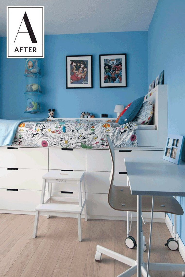 Design Your Room Online Ikea: Before & After A Kids Room Ikea Hack Adds Style & Storage