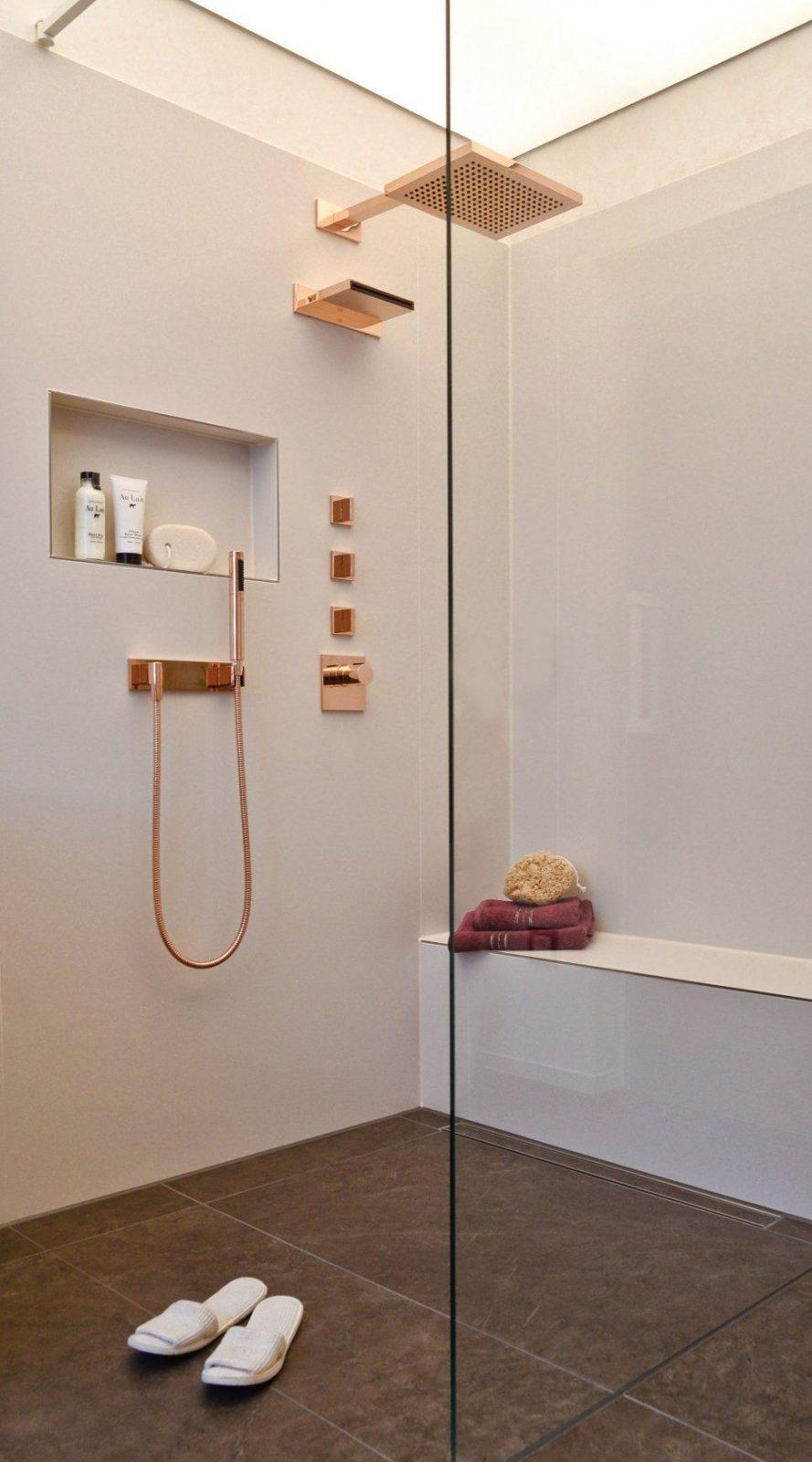Begehbare Dusche Mit Sitzbank – Mehr Komfort Beim Duschen von Begehbare Dusche Mit Sitzbank Bild