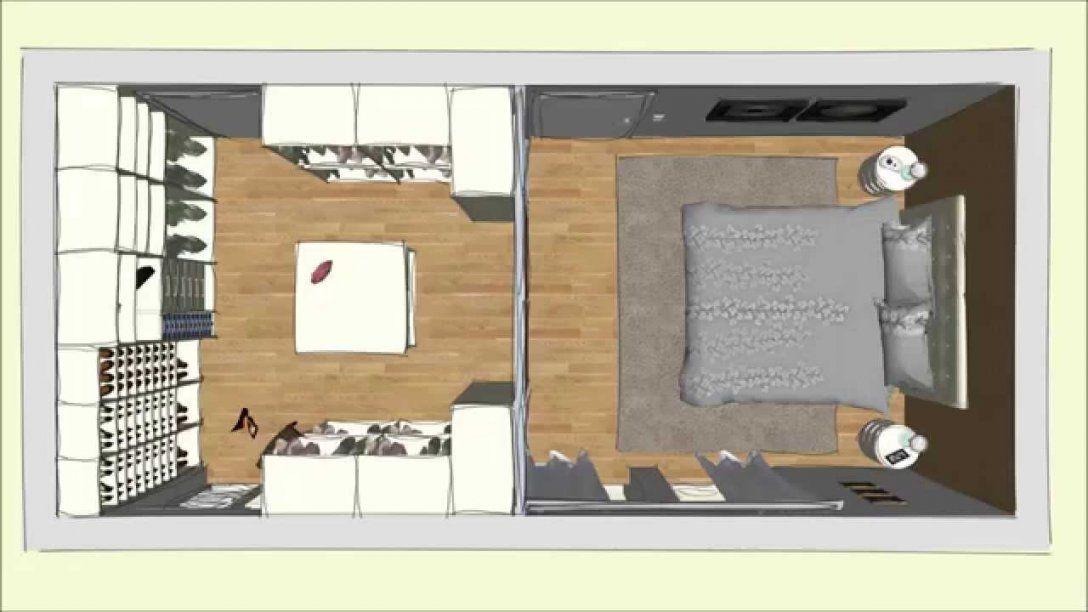 Begehbarer Cabinet Kleiderschrank Im Schlafzimmer Geplant Von Dörr von Kleiner Begehbarer Kleiderschrank Selber Bauen Photo