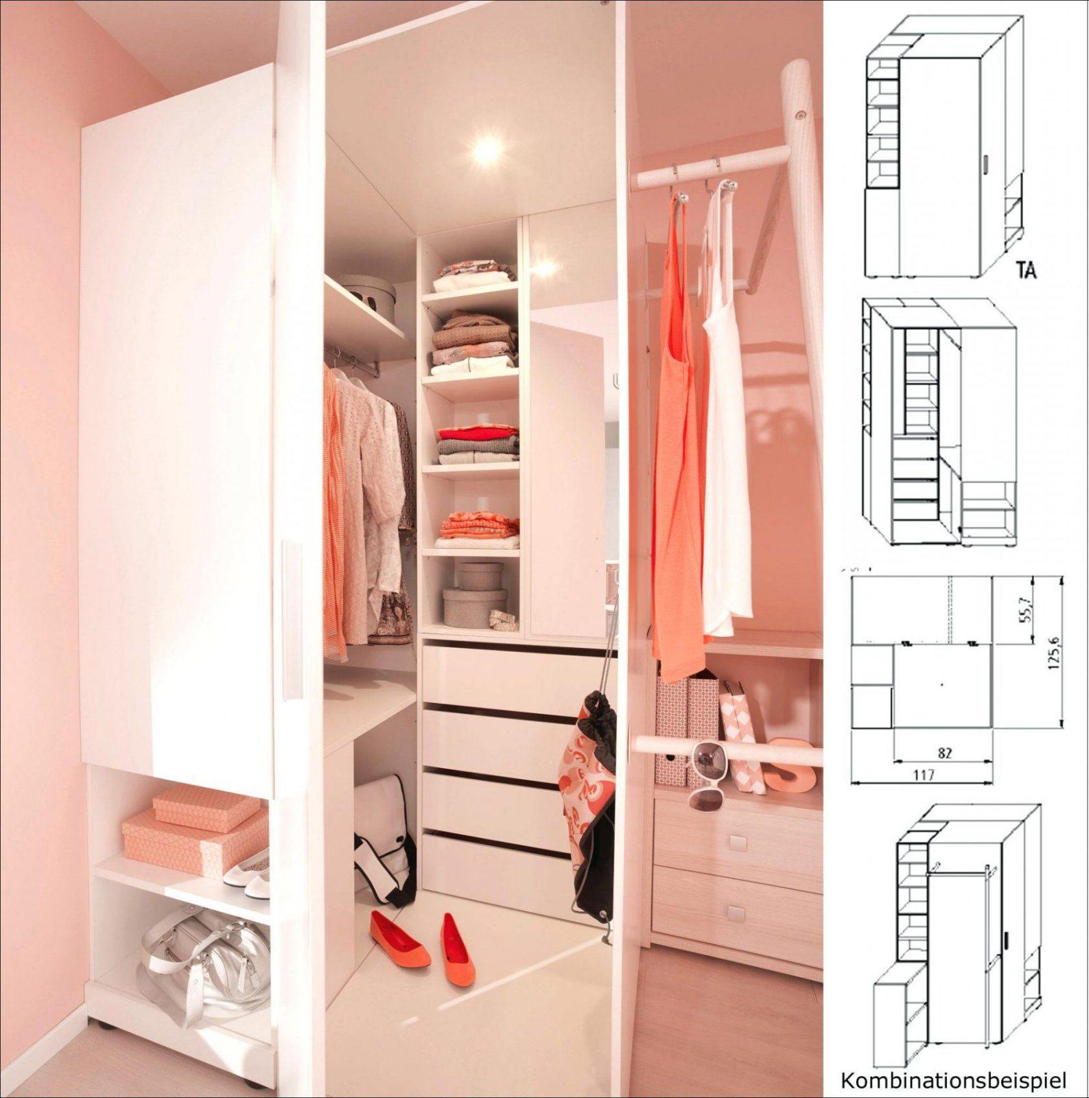Begehbarer Eckschrank Wellemabel Room X Eckkleiderschrank Weia von Jugendzimmer Mit Begehbarem Schrank Bild