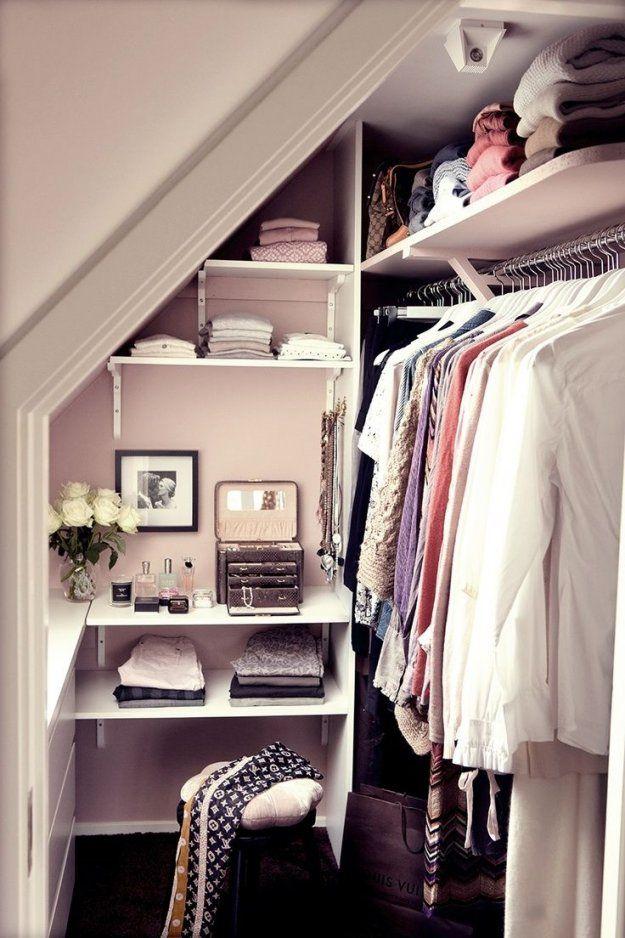 Begehbarer Kleiderschrank Dachschräge  Forum  Glamour von Begehbarer Kleiderschrank Kleines Schlafzimmer Photo