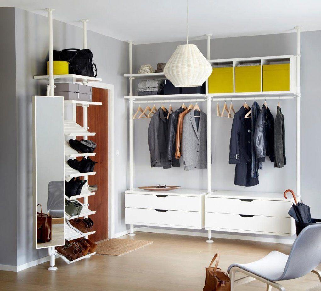 Begehbarer Kleiderschrank  Innenausstattung Und Schiebetüren von Ikea Begehbarer Kleiderschrank Stolmen Photo