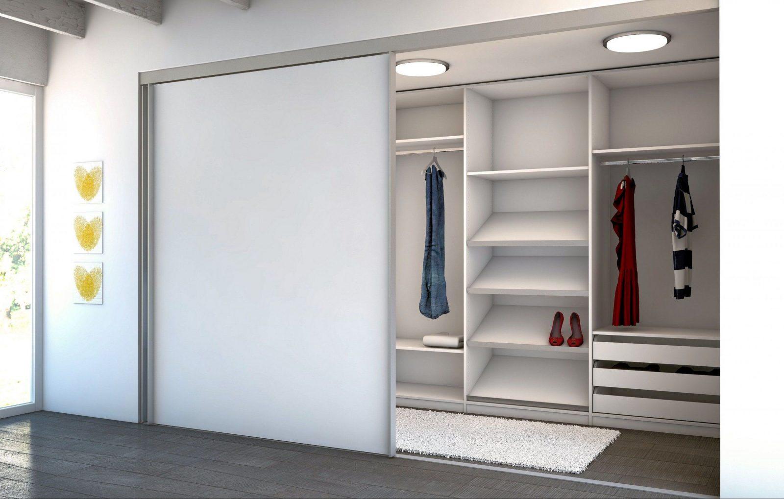 Begehbarer Kleiderschrank Mit Schiebetüren  Minimalistisches Haus von Schiebetür Selber Bauen Schrank Photo
