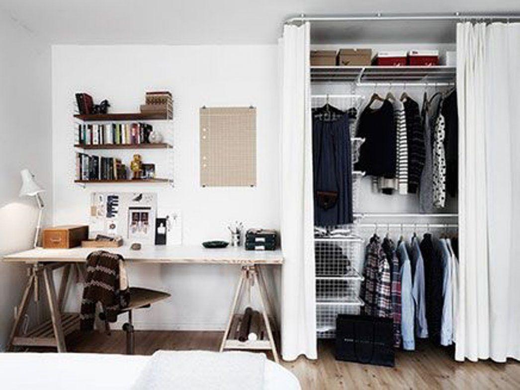 Begehbarer Kleiderschrank Mit Vorhängen von Begehbarer Kleiderschrank Mit Vorhang Bild