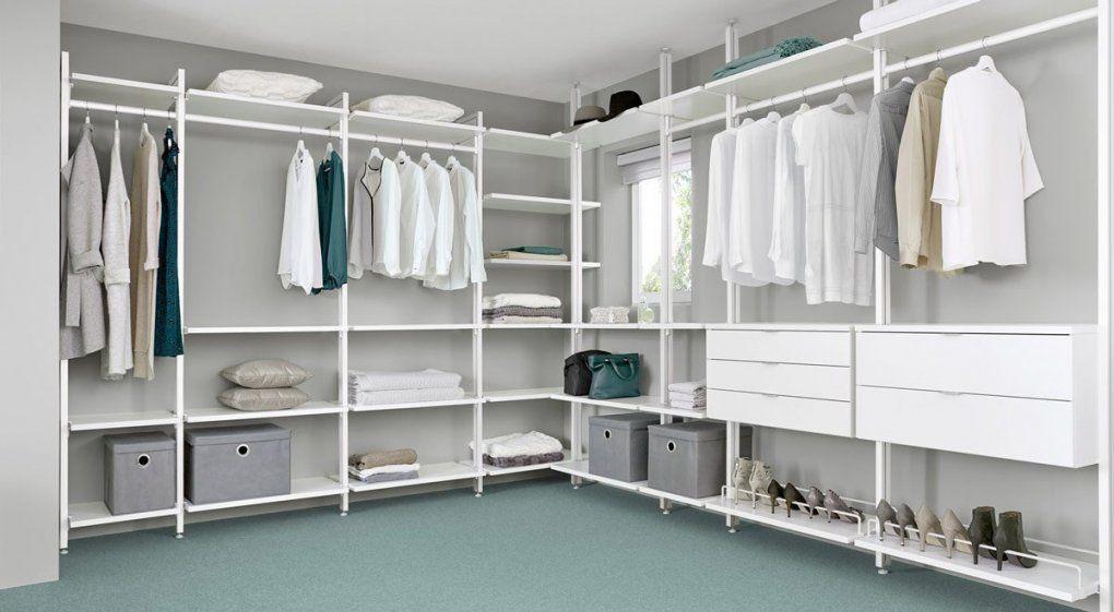 Begehbarer Kleiderschrank  Online Planen & Kaufen  Regalraum von Begehbarer Kleiderschrank System Günstig Bild