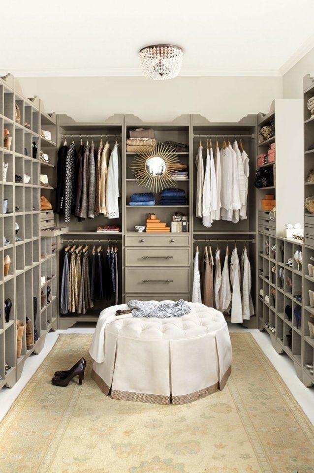Begehbarer Kleiderschrank Selber Bauen  Tipps Und Ideen von Begehbarer Kleiderschrank Selber Bauen Bild