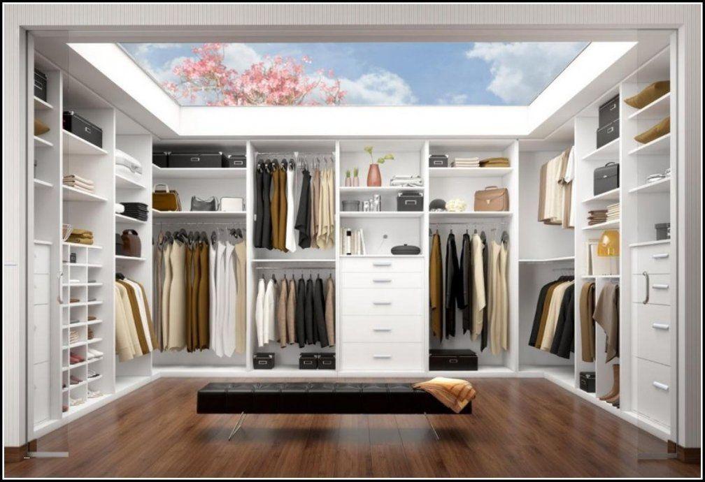 Begehbarer Kleiderschrank Türen Einzigartig Begehbarer von Begehbarer Kleiderschrank Kleines Schlafzimmer Bild