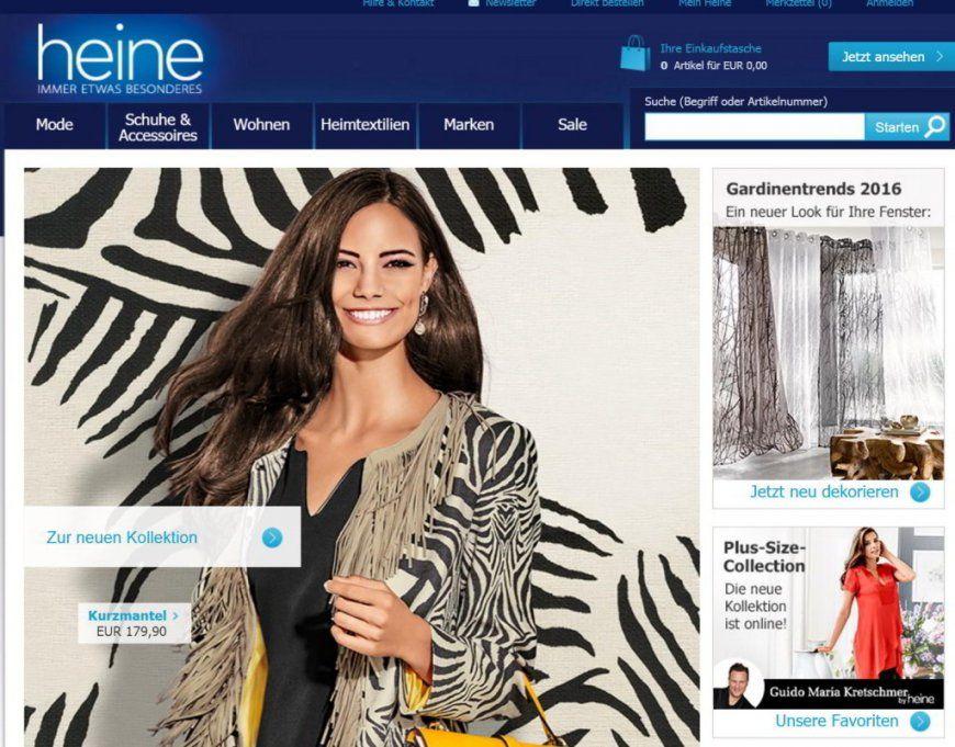 Bei Heine Versandkostenfrei Bestellen + Gutschein von Heine Immer Etwas Besonderes Bild